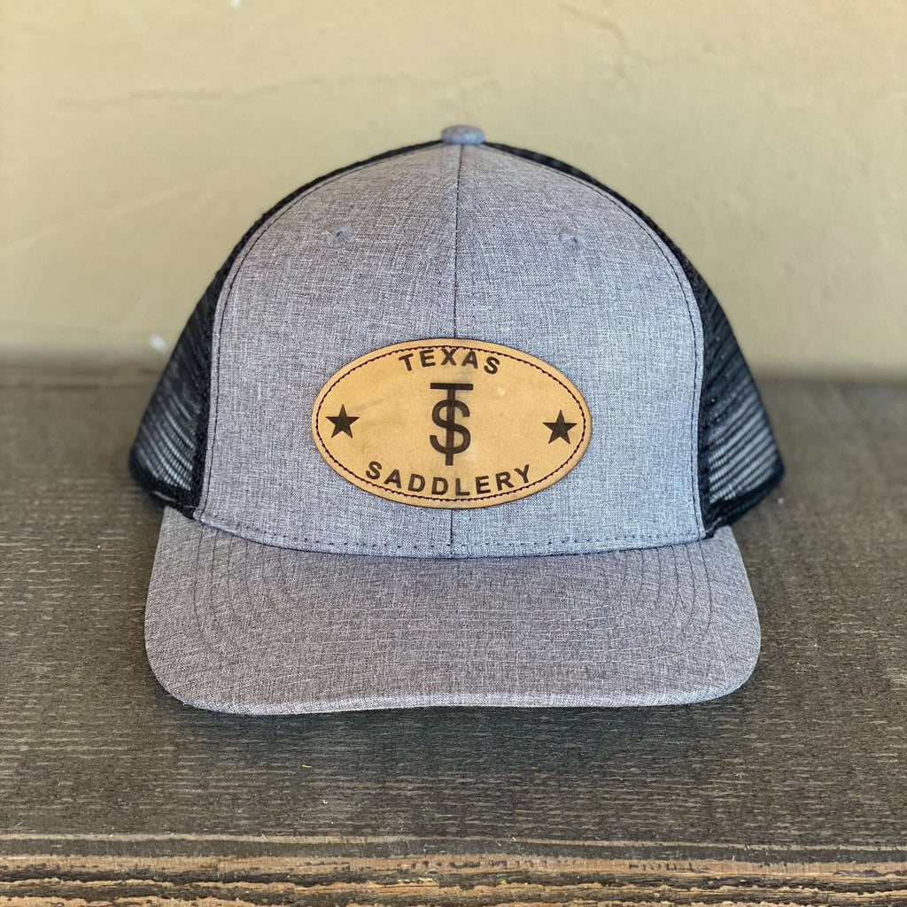 Heather Grey & Black Trucker Cap