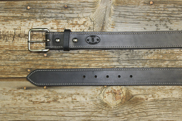 Bargain Barn - Black Latigo Belt