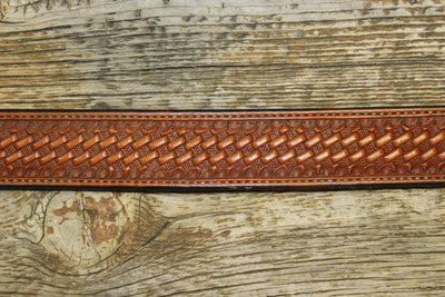 Natural Basket Western Belt
