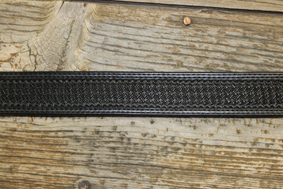 Bargain Barn - Black Spider Tapered Belt