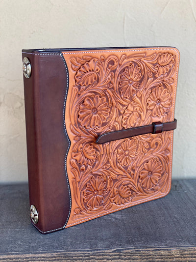 *Limited Edition* Floral Tooled Photo Album