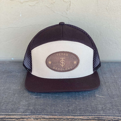 Tan & Brown Trucker Cap