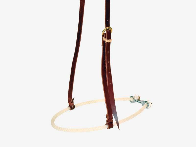 3/8'' Single Rope Noseband