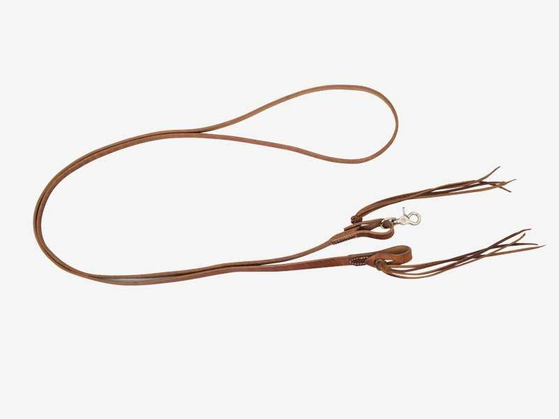 5/8'' x 8' Cowboy Knot Harness Roping Reins