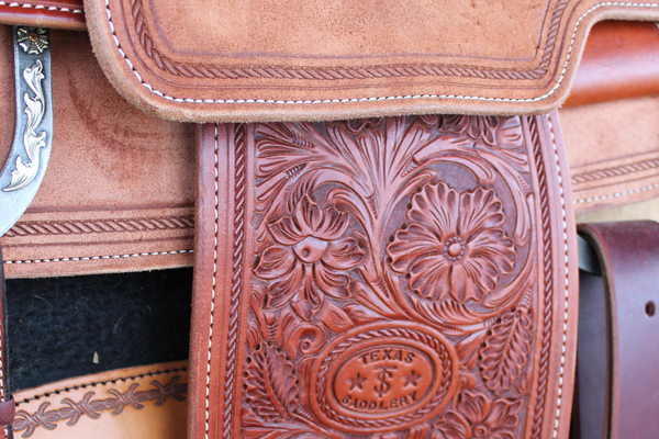 Tooled Saddle