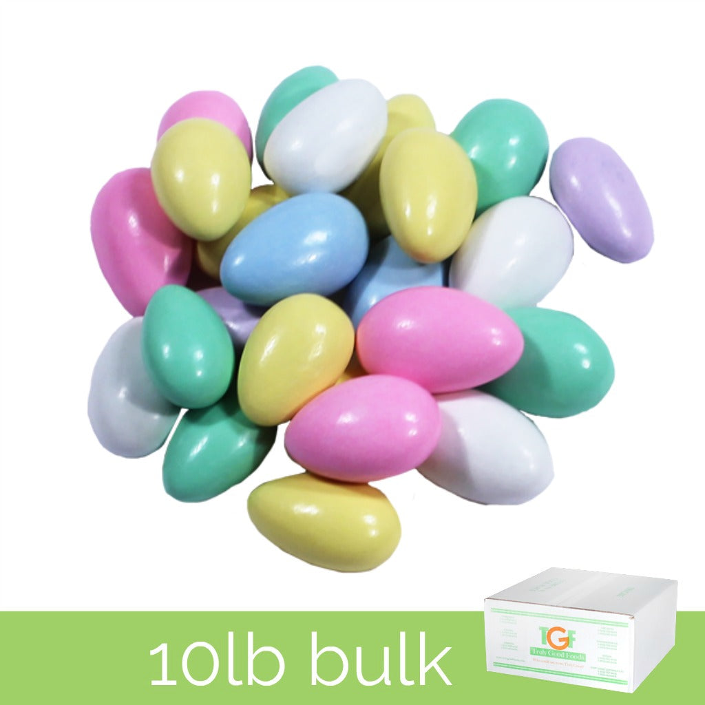 Assorted Jordan Almonds - 10lb box