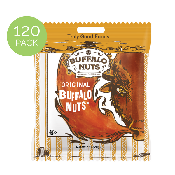 Buffalo Nuts - 120 pack, 1oz bags