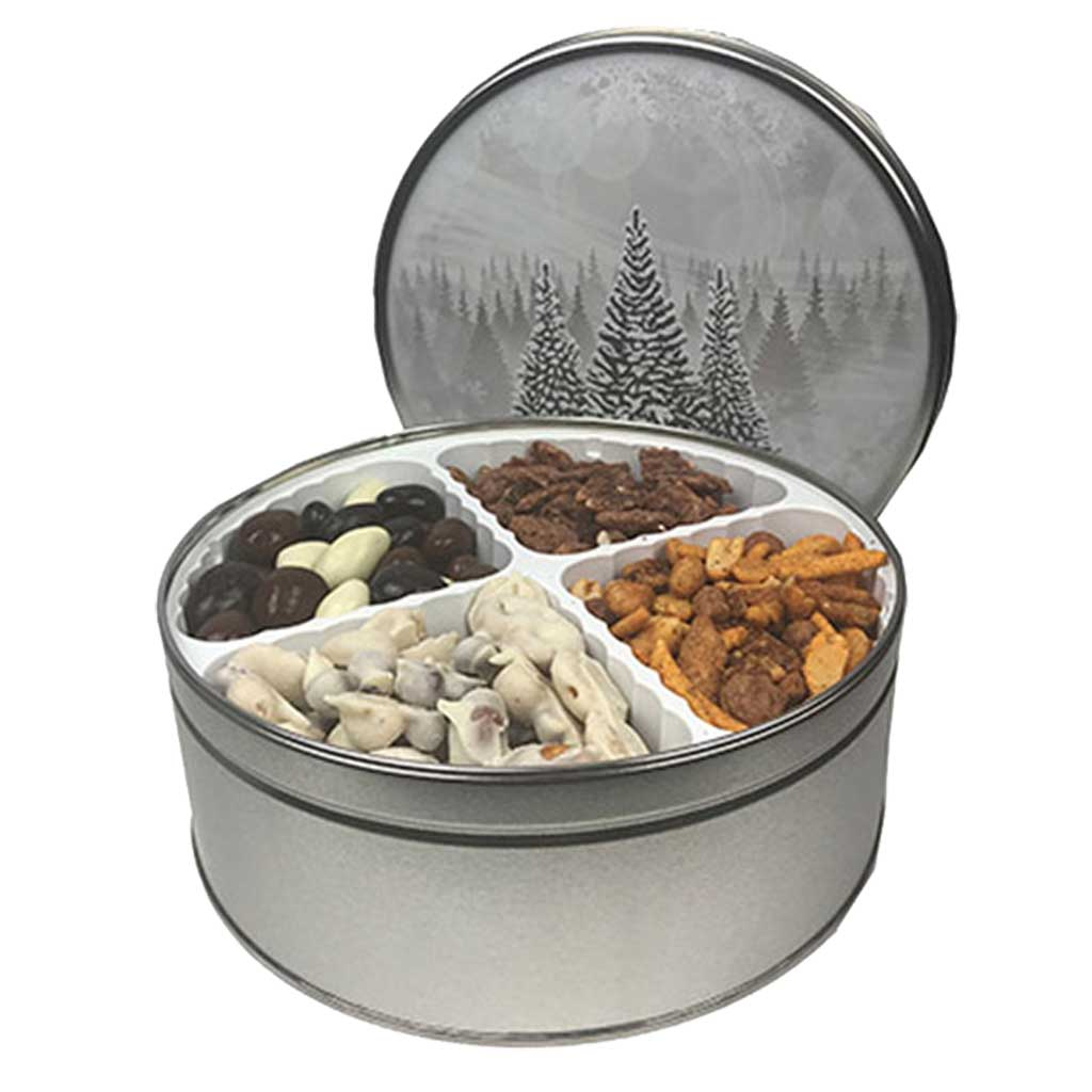 Christmas Tin - 4-Tray