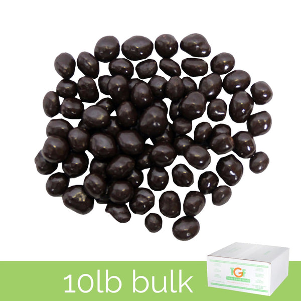 Dark Chocolate Espresso Beans – 10lb