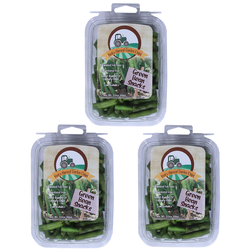 Garden Chips™, Green Beans – 3 pack, 3.5oz trays