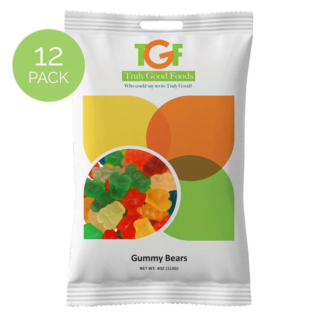 Gummy Bears – 12 pack, 4oz snack bags