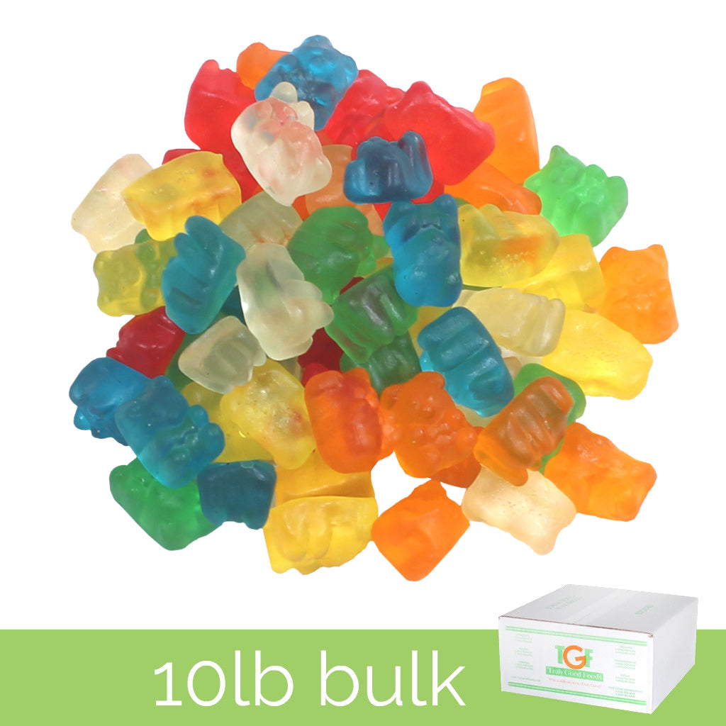 Gummy Bears (Sunrise) – 10lb box