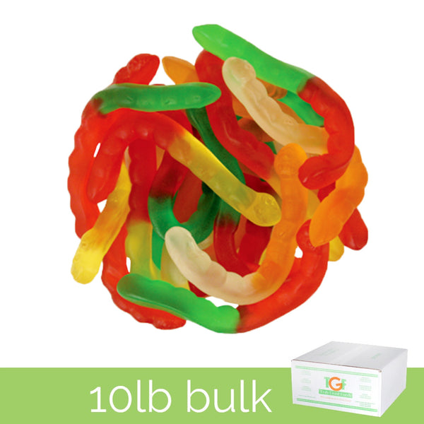 Gummy Worms - 10lb box