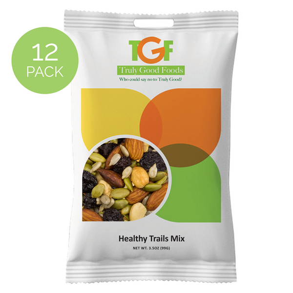 Healthy Trails Mix™ – 12 pack, 3.5oz snack bags
