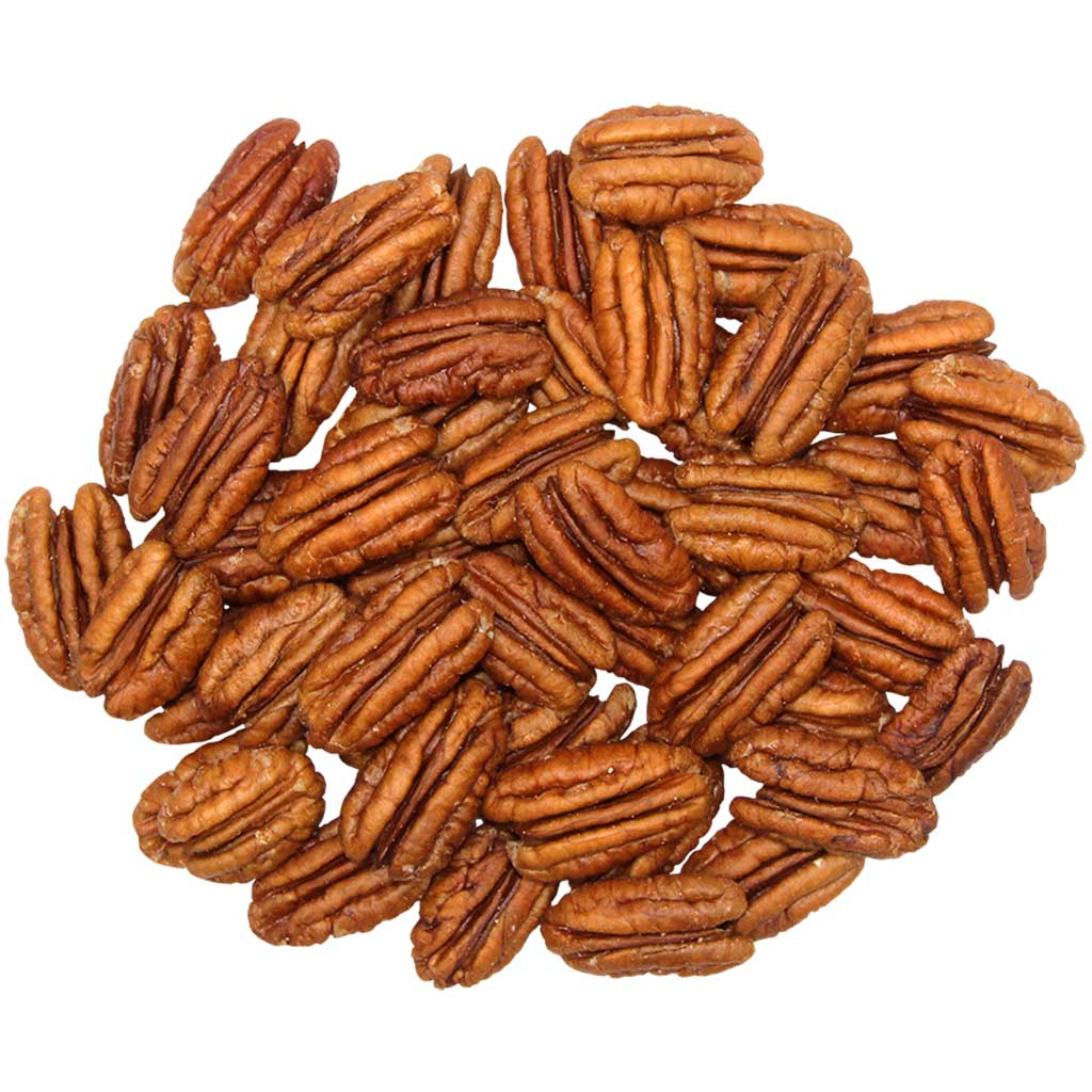 NEW CROP Pecan Halves – 1lb Bag