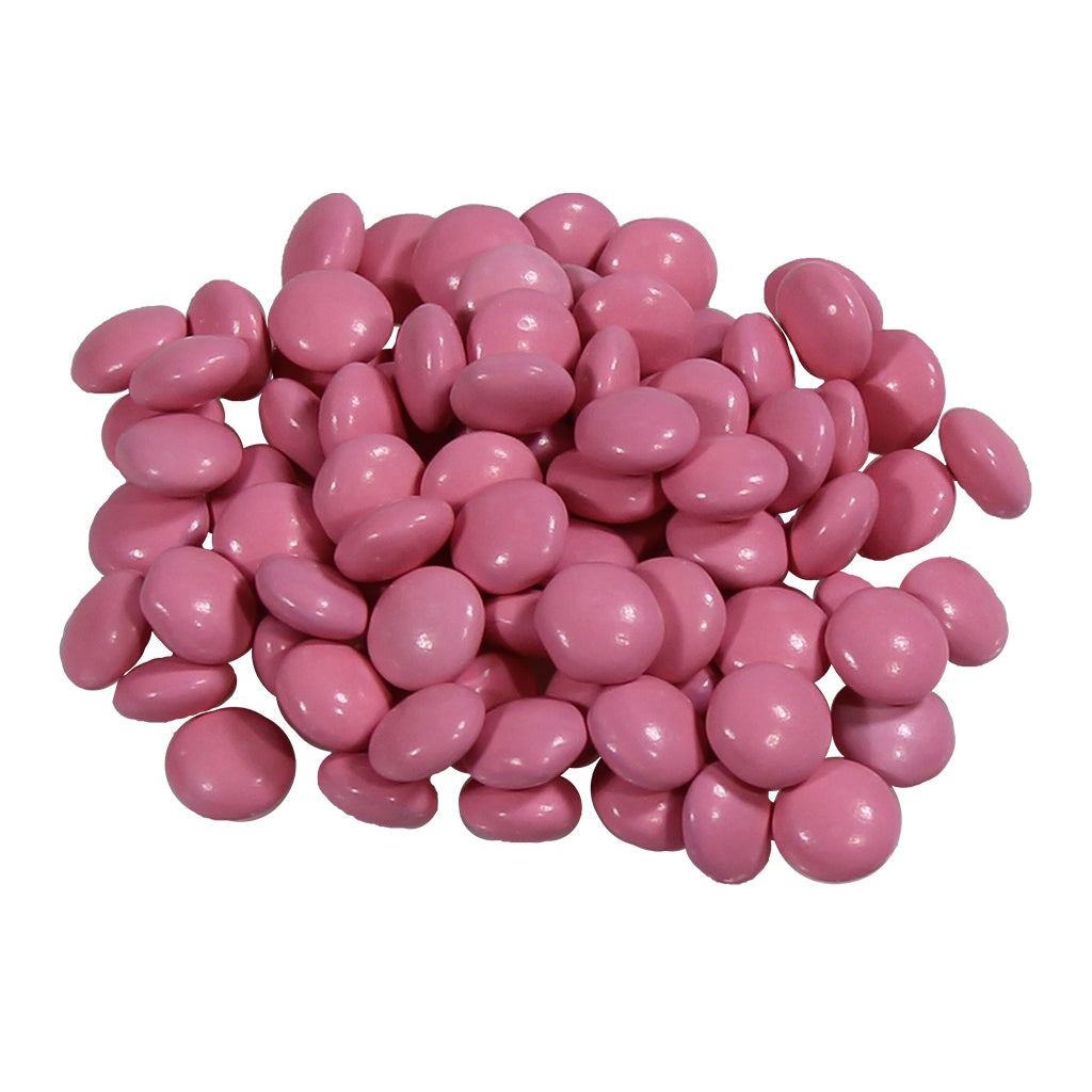 Pink Candy Chocolate Gems – 1lb bag