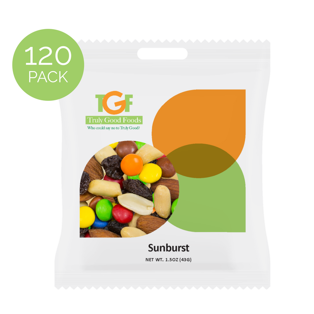 Sunburst™ – 120 pack, 1.5oz each mini snack bags