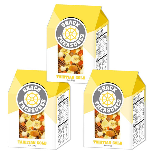 Snack Treasures, Tahitian Gold™ – 3 pack, 4oz each
