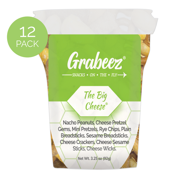 The Big Cheese®- 12 pack, 2.75oz each Grabeez® Snack Cups