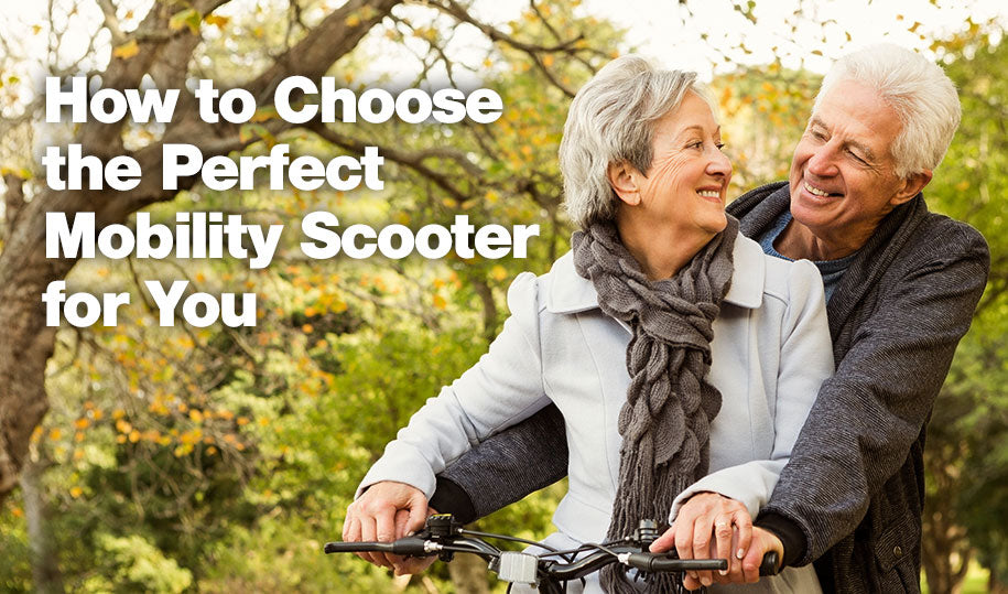 How to Choose the Perfect Mobility Scooter for You