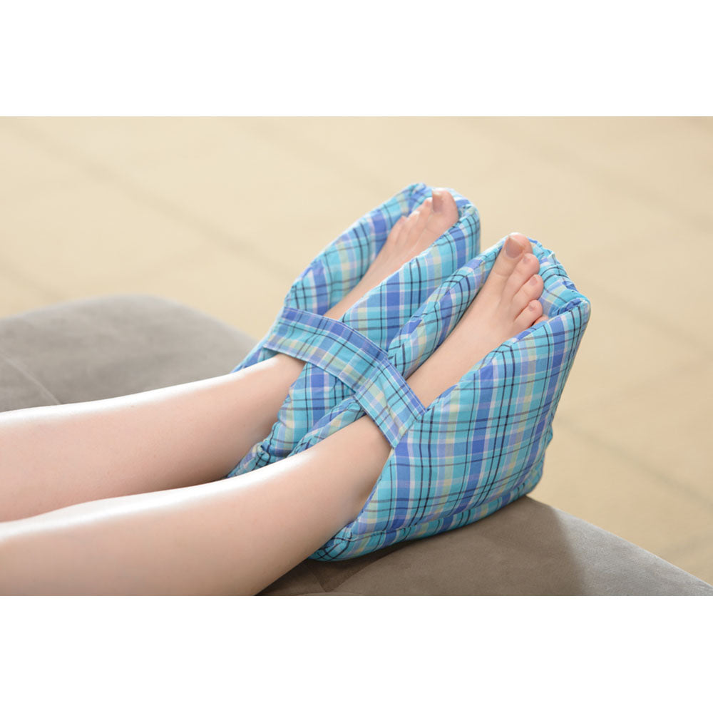 Care Active Foot Pillow Plaid Heel Protector (Pair)