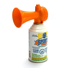 Kemp USA 5.5 Oz Air Horn With Power Pack