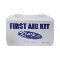 Kemp USA 10 Person 10-Unit First Aid Kit