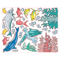 Pedia Pals Pediatric Underwater Theme Decal Kit