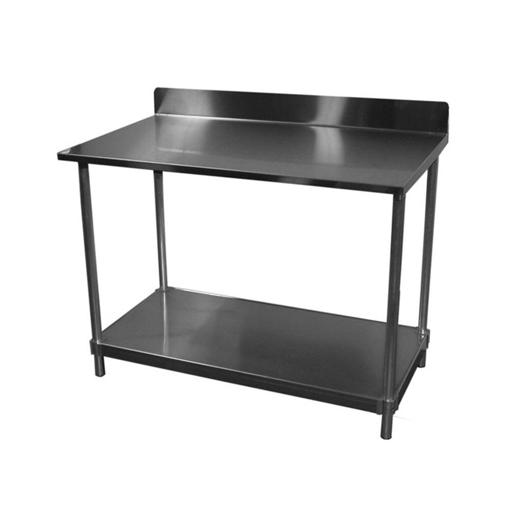 PVI Food Service 14-Gauge Stainless Top Table