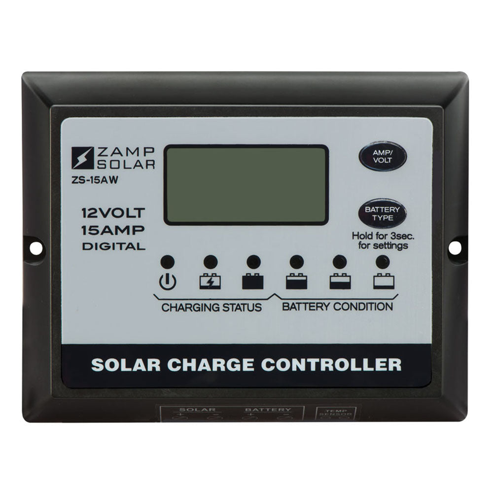 Zamp Solar 15-Watt 5-Stage PWM Charge Controller