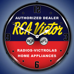 "RCA Victor Authorized Dealer 14"" LED Wall Clock"