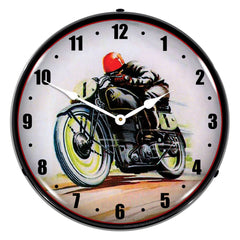 "Road Racer 14"" LED Wall Clock"