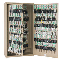 MMF Industries™ STEELMASTER® Fob-Friendly Key Cabinet 130 Key Capacity