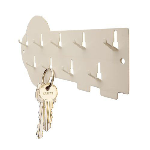 MMF Industries™ STEELMASTER® 9-Hook Key Rack