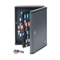 MMF Industries™ STEELMASTER® Security Key Cabinets 90 Key Capacity