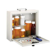 MMF Industries™ Med-Master® – Deluxe Steel Medication Case