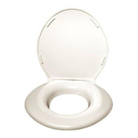 Big John Original (1W) Heavy Duty Toilet Seat with Cover