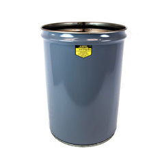 Justrite  Cease-Fire® Waste Receptacle,Safety Drum Can Only, 12 Gallon