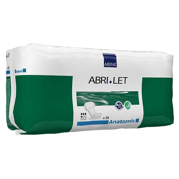 Abena Abri-Let Anatomic Pads with Fluid Barrier (20 per Pack)