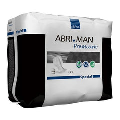 Abena Abri-Man Special Male Pouch Pads - Contoured (21 per Pack)