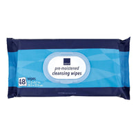 "Abena Premium ""Stretchable"" Cleansing Wipes (48 per Pack)"