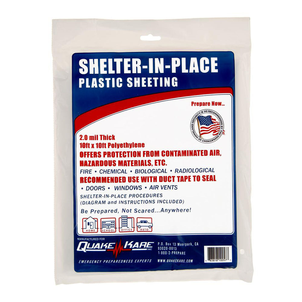 ER™ Emergency Ready Shelter-in-Place Plastic Sheeting