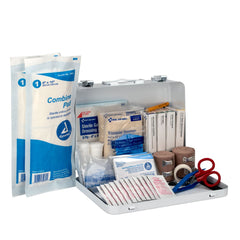First Aid Only 25 Person Loggers First Aid Kit, Metal Weatherproof Case