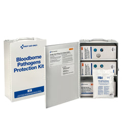 First Aid Only Bloodborne Pathogen (BBP) Spill Clean-up First Aid Cabinet