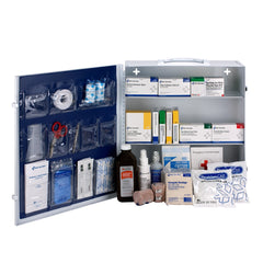 First Aid Only Pediatric 3 Shelf First Aid Metal Station
