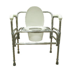 ConvaQuip 724A Bedside Commode - Height Adjustable