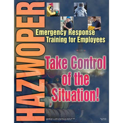 JJ Keller HAZWOPER Emergency Response Training for Employees - Awareness Poster