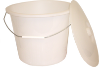 ConvaQuip Universal Tall Commode Pail