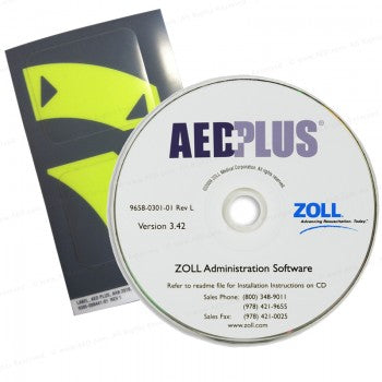 Zoll AED Plus AHA Guidelines Upgrade Kit