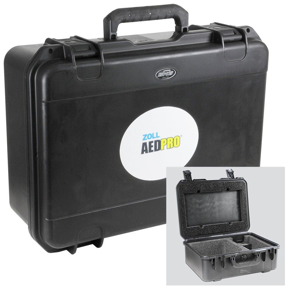 Zoll AED Pro Hard Case with Foam Cut-Outs